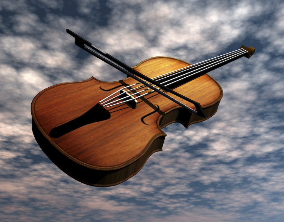 Digital Visualization of a Violin